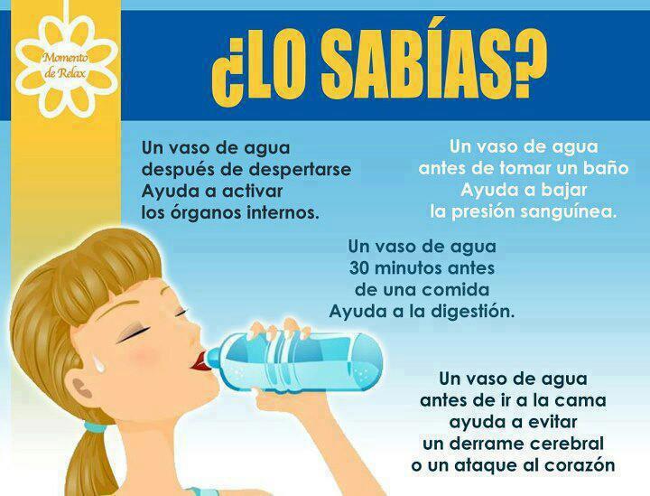 Agua Consejos